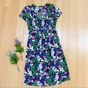 Boden midi length floral dress, US 6.